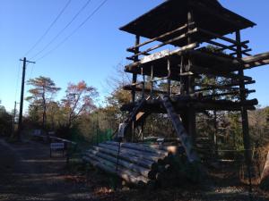 ネット渡り・ターザン砦・丸太平均台